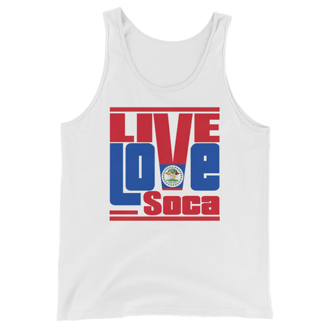 Belize Islands Edition Mens Tank Top - Live Love Soca Clothing & Accessories