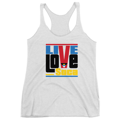 Antigua & Barbuda Islands Edition Womens Tank Top - Live Love Soca Clothing & Accessories