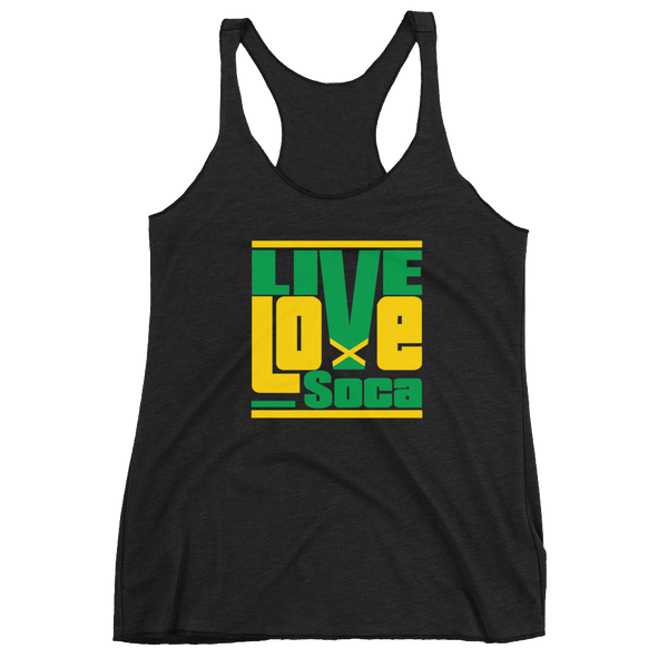 Jamaica Islands Edition Black Womens Tank Top - Live Love Soca Clothing & Accessories