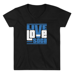Honduras Islands Edition Womens V-Neck T-Shirt - Live Love Soca Clothing & Accessories
