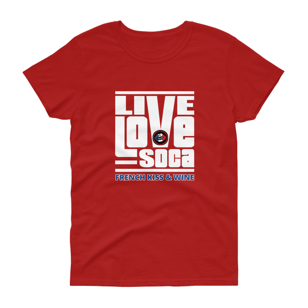 FKW V2 Womens Red T-Shirt - Live Love Soca Clothing & Accessories