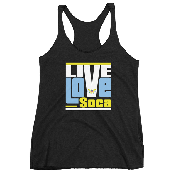 Virgin Islands - Islands Edition Womens Tank Top - Live Love Soca Clothing & Accessories