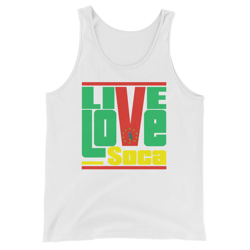 Dominica Islands Edition Mens Tank Top - Live Love Soca Clothing & Accessories