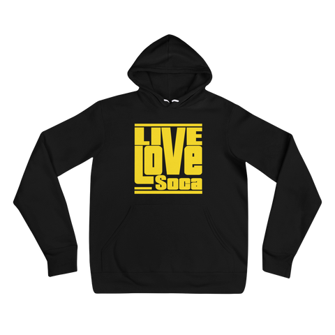 Black LLS Womens Hoody - Live Love Soca Clothing & Accessories