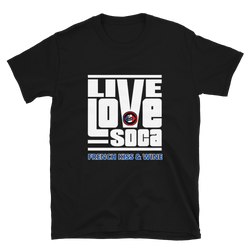 FKW V2 Mens  Black T-Shirt - Live Love Soca Clothing & Accessories