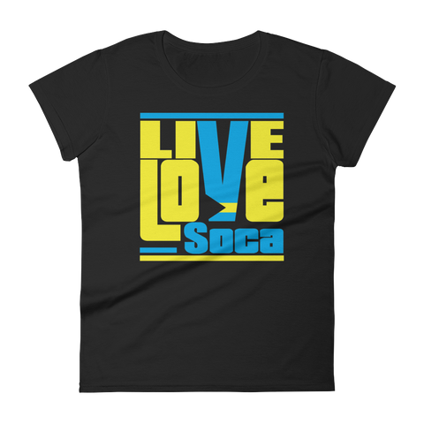Bahamas Islands Edition Womens T-Shirt - Live Love Soca Clothing & Accessories