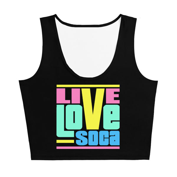 Endless Summer 20 DIFS - Retrosumma Live Love Soca Crop Tank