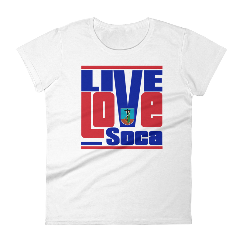 Montserrat Islands Edition Womens T-Shirt - Live Love Soca Clothing & Accessories
