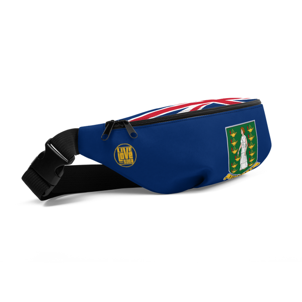 British Virgin Island Waist Bag - Live Love Soca Clothing & Accessories