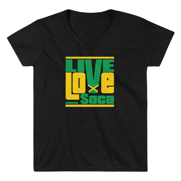 Jamaica Islands Edition Womens V-Neck T-Shirt - Live Love Soca Clothing & Accessories