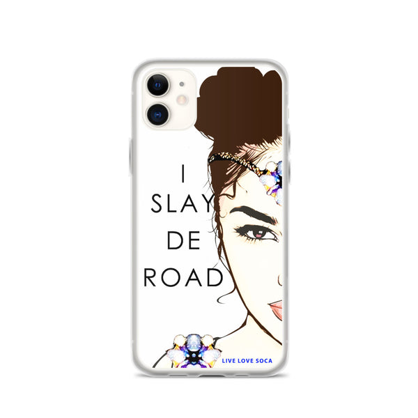 I Slay De Road iPhone Case - Live Love Soca Clothing & Accessories