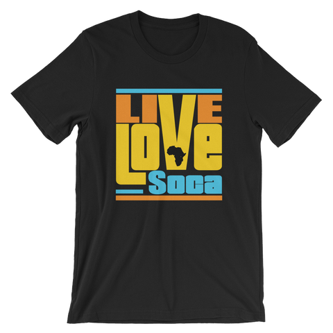 Kente Africa Edition Mens T-Shirt - Live Love Soca Clothing & Accessories