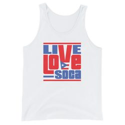 Puerto Rico Islands Edition Mens Tank Top - Live Love Soca Clothing & Accessories