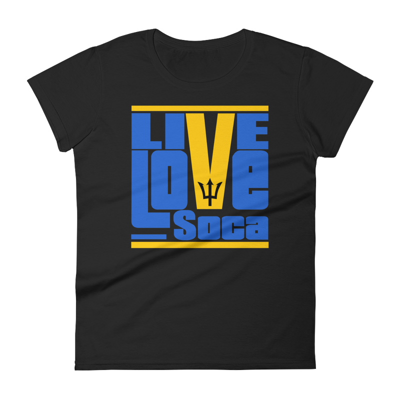 Barbados Islands Edition Womens T-Shirt - Live Love Soca Clothing & Accessories