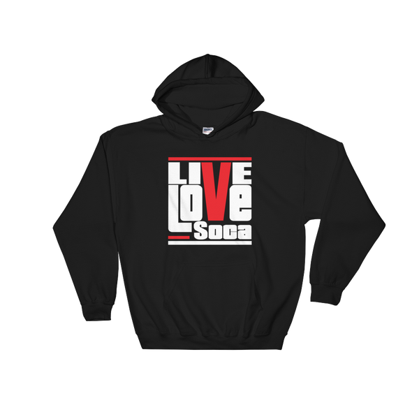 Black Originals Mens Hoodie - Live Love Soca Clothing & Accessories