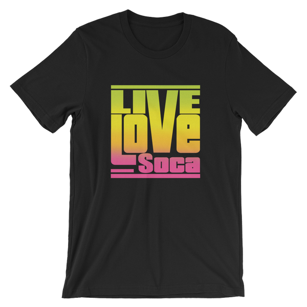 Endless Summer - Tropical Blend - Black Mens T-Shirt - Live Love Soca Clothing & Accessories