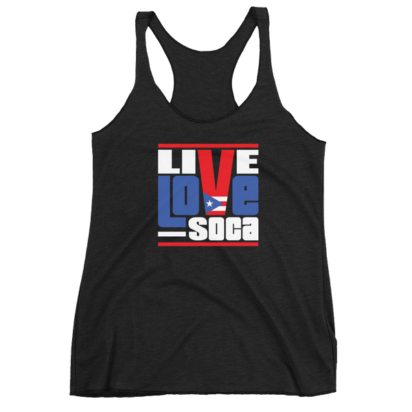 Puerto Rico Islands Edition Womens Tank Top