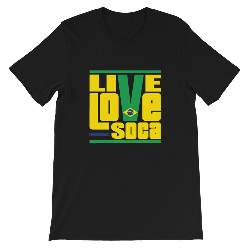 Brazil South America Edition Mens T-Shirt - Live Love Soca Clothing & Accessories