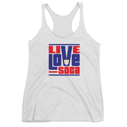 Anguilla Islands Edition Womens Tank Top - Live Love Soca Clothing & Accessories