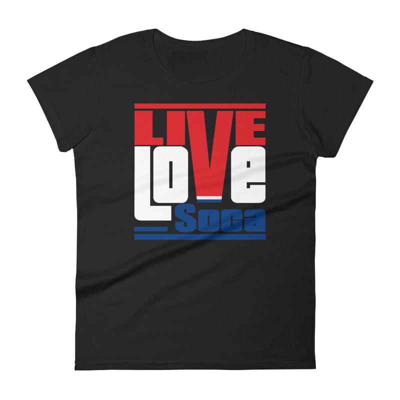 Netherlands Euro Edition Womens T-Shirt - Live Love Soca Clothing & Accessories