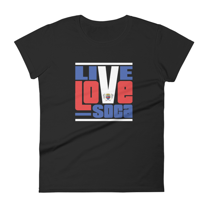 Saint Barthelemy Islands Edition Womens T-Shirt - Live Love Soca Clothing & Accessories