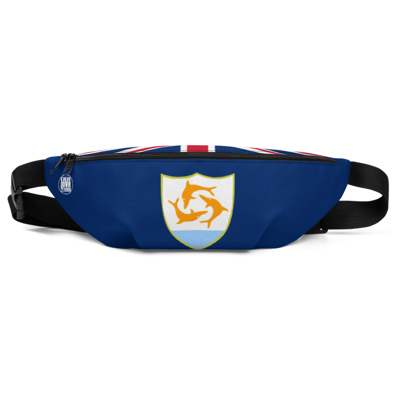 Anguilla Waist Bag - Live Love Soca Clothing & Accessories