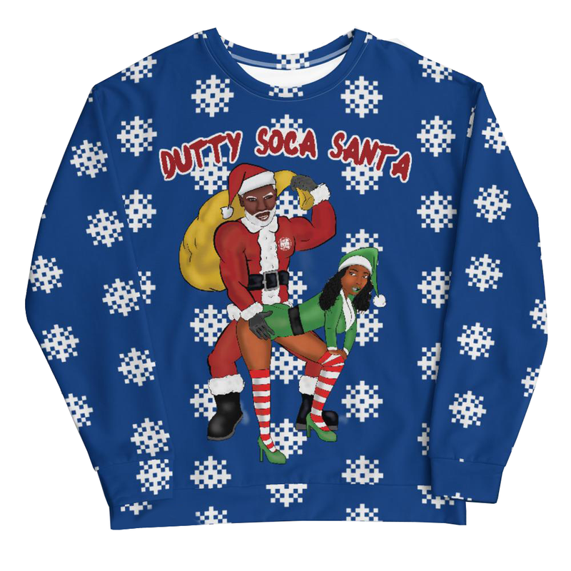 Dutty Soca Santa Christmas Sweater