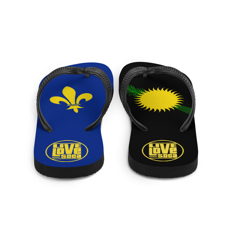 Island Guadeloupe Flip Flops - Live Love Soca Clothing & Accessories