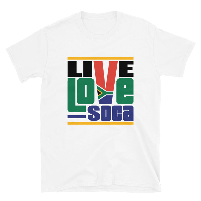 South Africa Africa Edition Mens T-Shirt - Live Love Soca Clothing & Accessories