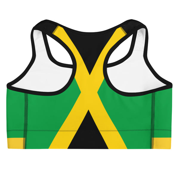 Island Active Jamaica Sports Bra - Live Love Soca Clothing & Accessories