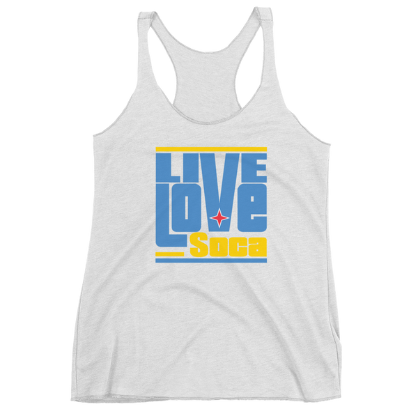 Aruba Islands Edition Womens Tank Top - Live Love Soca Clothing & Accessories