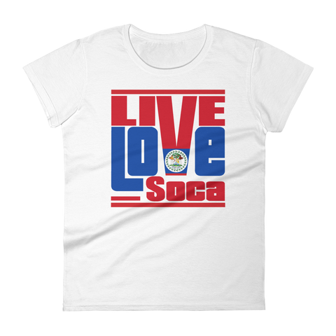 Belize Islands Edition Womens T-Shirt - Live Love Soca Clothing & Accessories