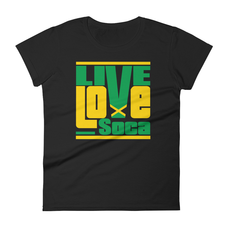 Jamaica Islands Edition Womens T-Shirt - Live Love Soca Clothing & Accessories