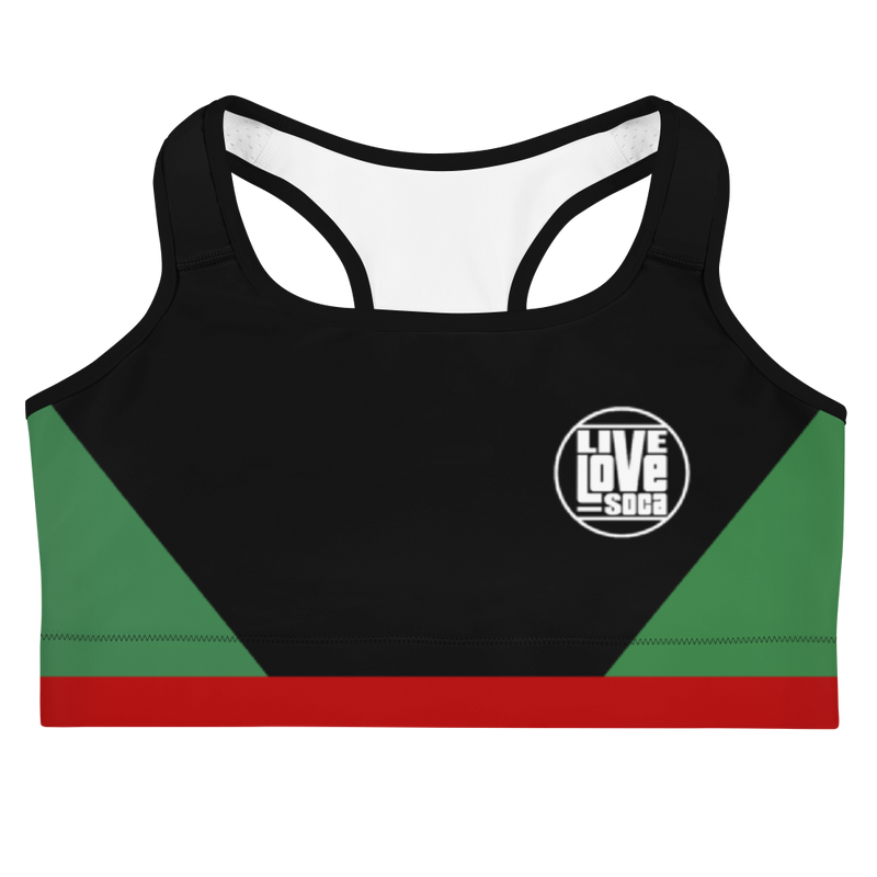 Island Active Suriname Sports Bra - Live Love Soca Clothing & Accessories