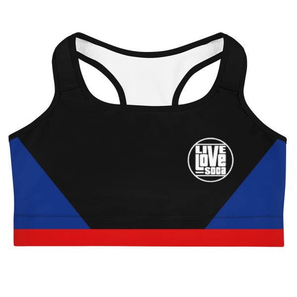 Island Active Anguilla Sports Bra - Live Love Soca Clothing & Accessories