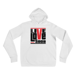 White Original LLS Hoody - Live Love Soca Clothing & Accessories