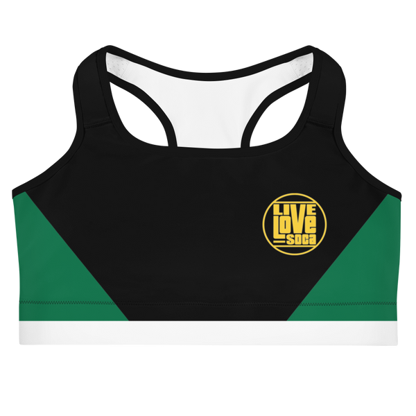 Island Active Dominica Sports Bra - Live Love Soca Clothing & Accessories