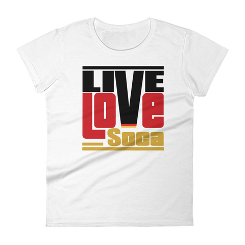 Germany Euro Edition Womens T-Shirt - Live Love Soca Clothing & Accessories