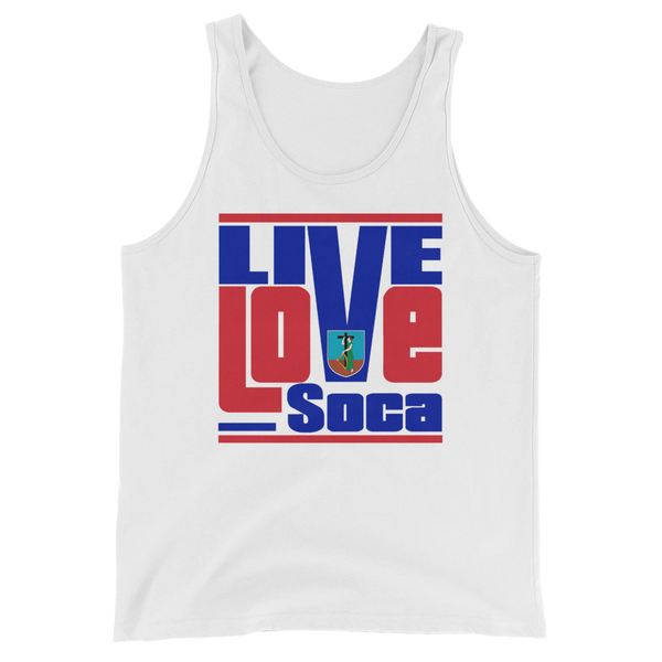 Montserrat Islands Edition Mens Tank Top - Live Love Soca Clothing & Accessories