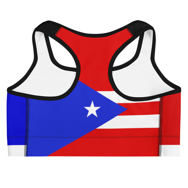 Island Active Puerto Rico Sports Bra - Live Love Soca Clothing & Accessories