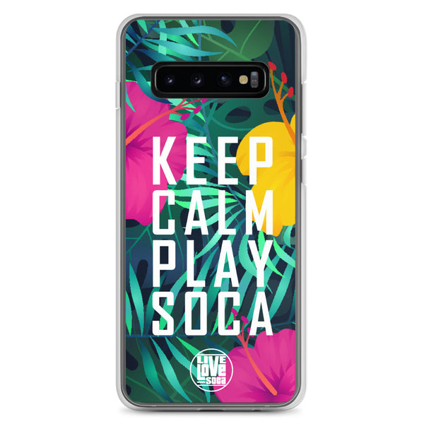 Keep Calm Play Soca Samsung Phone Case
