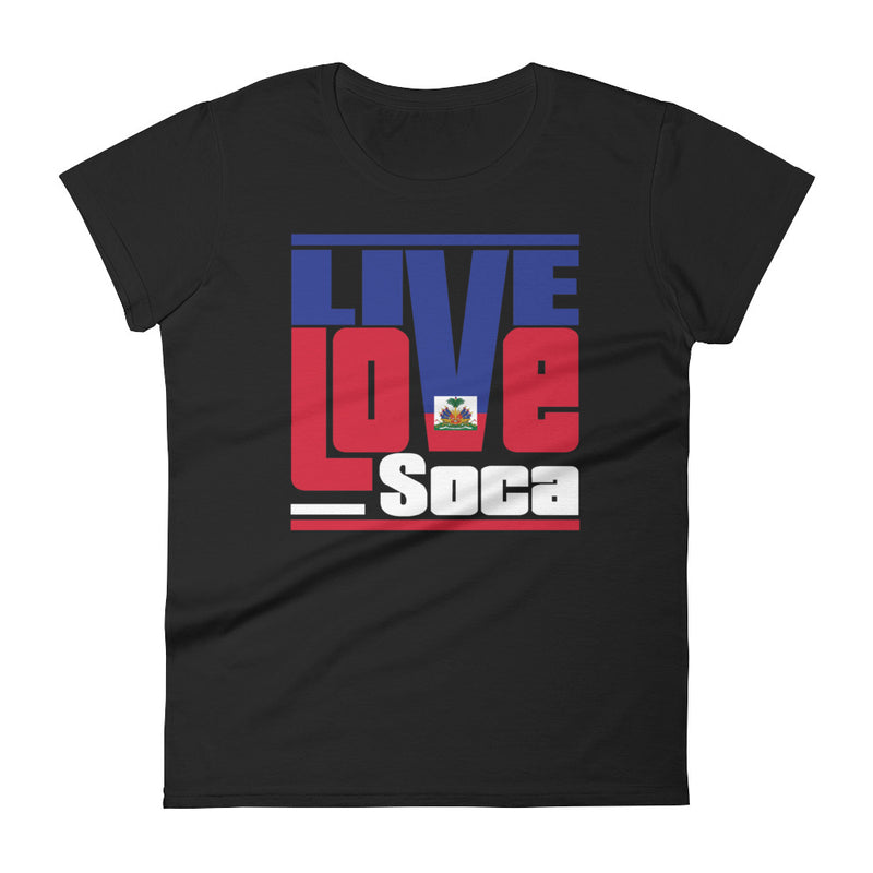 Haiti Islands Edition Womens T-Shirt - Live Love Soca Clothing & Accessories