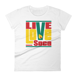 Grenada Islands Edition Womens T-Shirt - Live Love Soca Clothing & Accessories