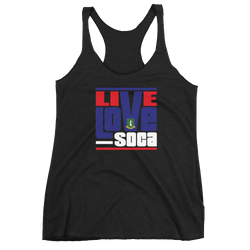 British Virgin Islands - Island Edition Womens Tank Top - Live Love Soca Clothing & Accessories