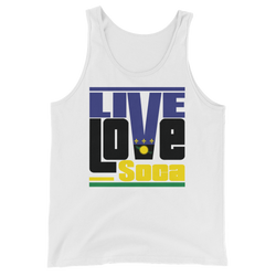 Guadeloupe Islands Edition Mens Tank Top - Live Love Soca Clothing & Accessories