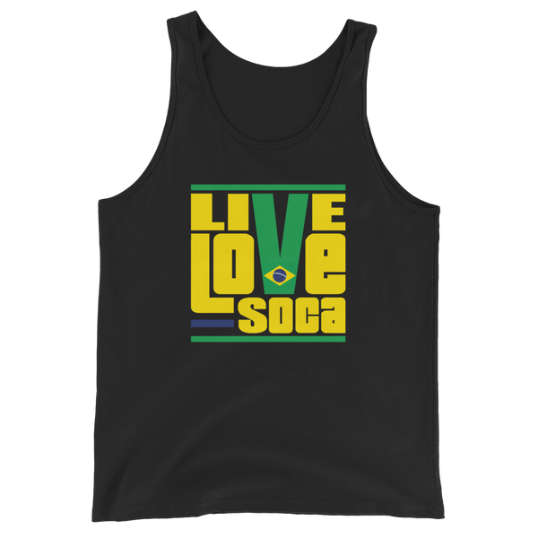 Brazil South America Edition Mens Tank Top - Live Love Soca Clothing & Accessories
