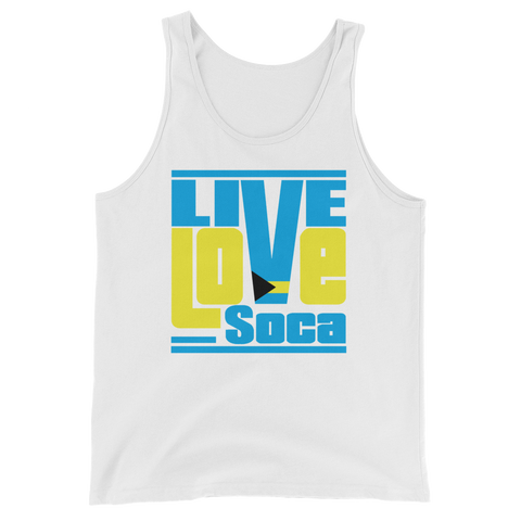 Bahamas Islands Edition Mens Tank Top - Live Love Soca Clothing & Accessories