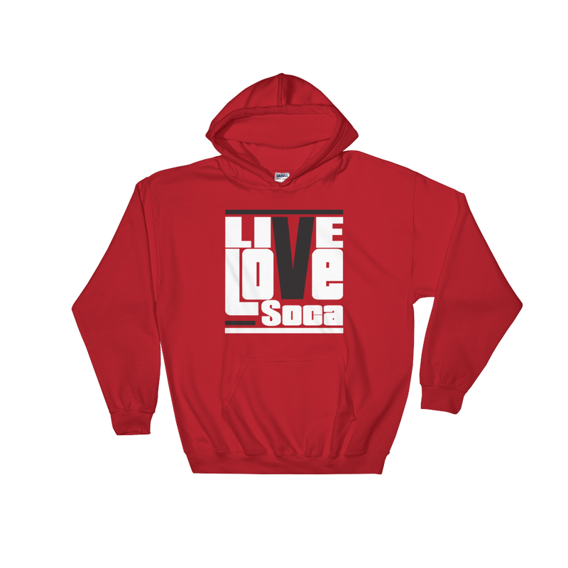 Red Originals Mens Hoodie - Live Love Soca Clothing & Accessories
