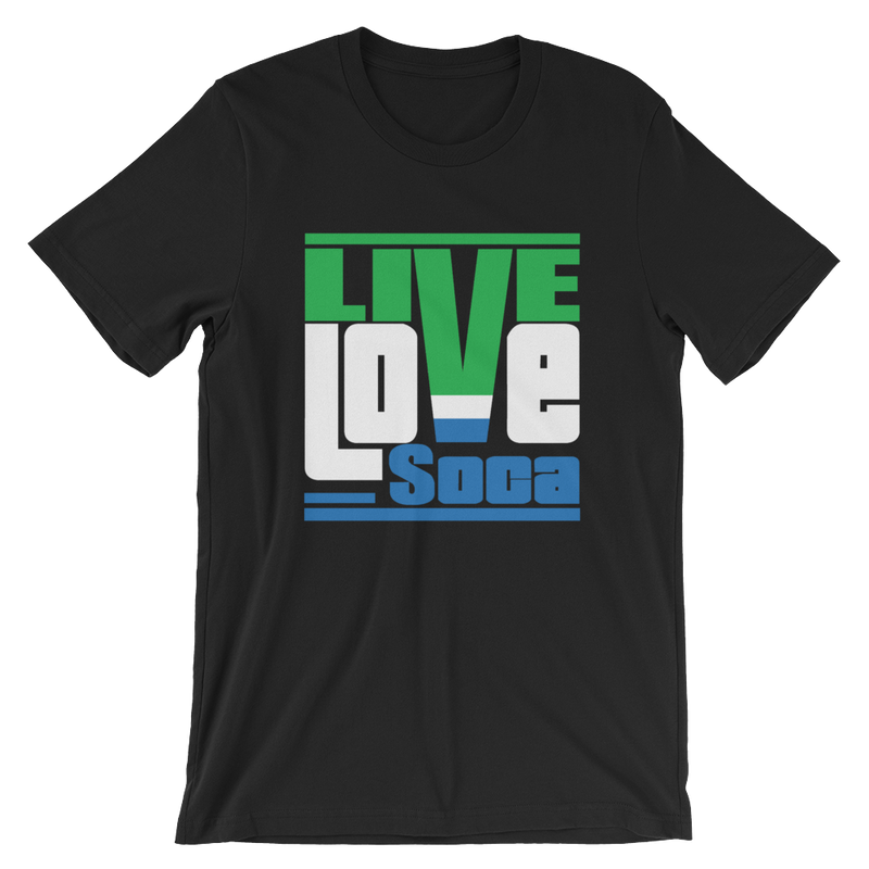 Sierra-Leone Africa Edition Mens T-Shirt - Live Love Soca Clothing & Accessories