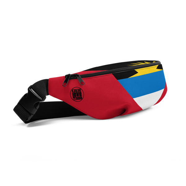Antigua & Barbuda Waist Bag - Live Love Soca Clothing & Accessories
